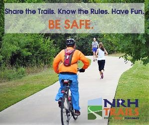 Share the Trails Be Safe
