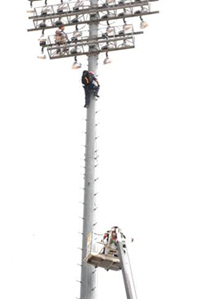 Technical Rescue on Light Tower