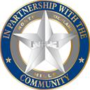 C-91509 North Richland Hills PD New Badge Coin Texas - side1