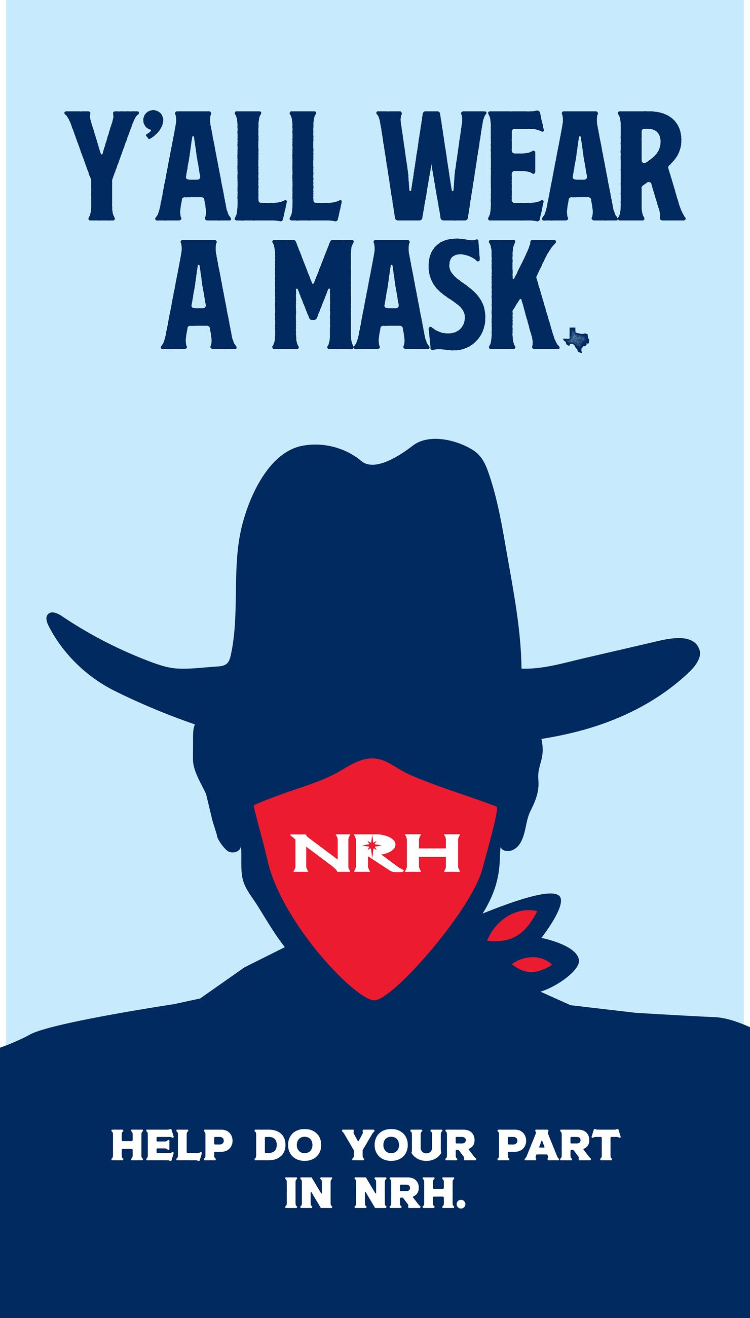 NRH Y'all Wear a Mask