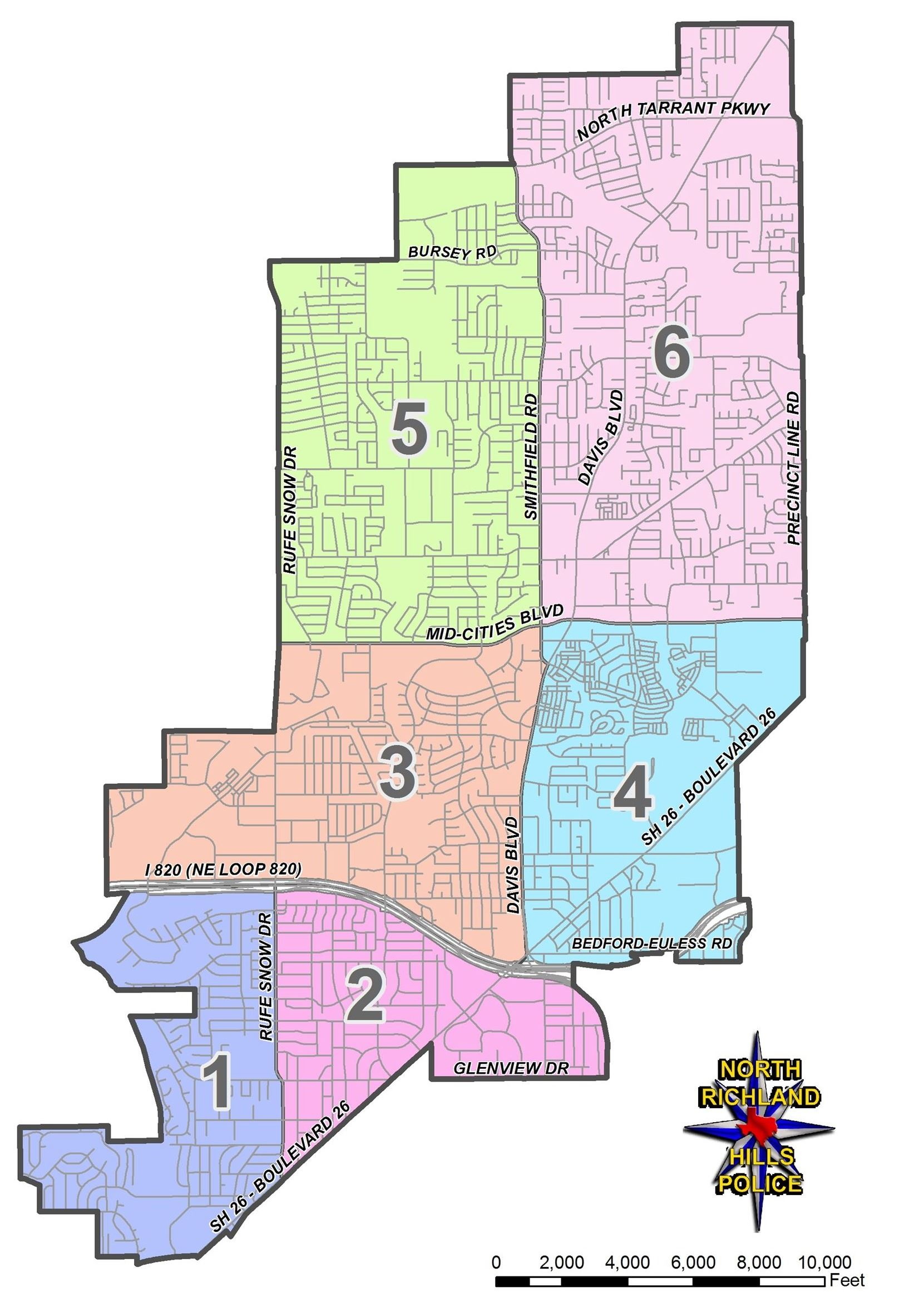 Police Districts 2019