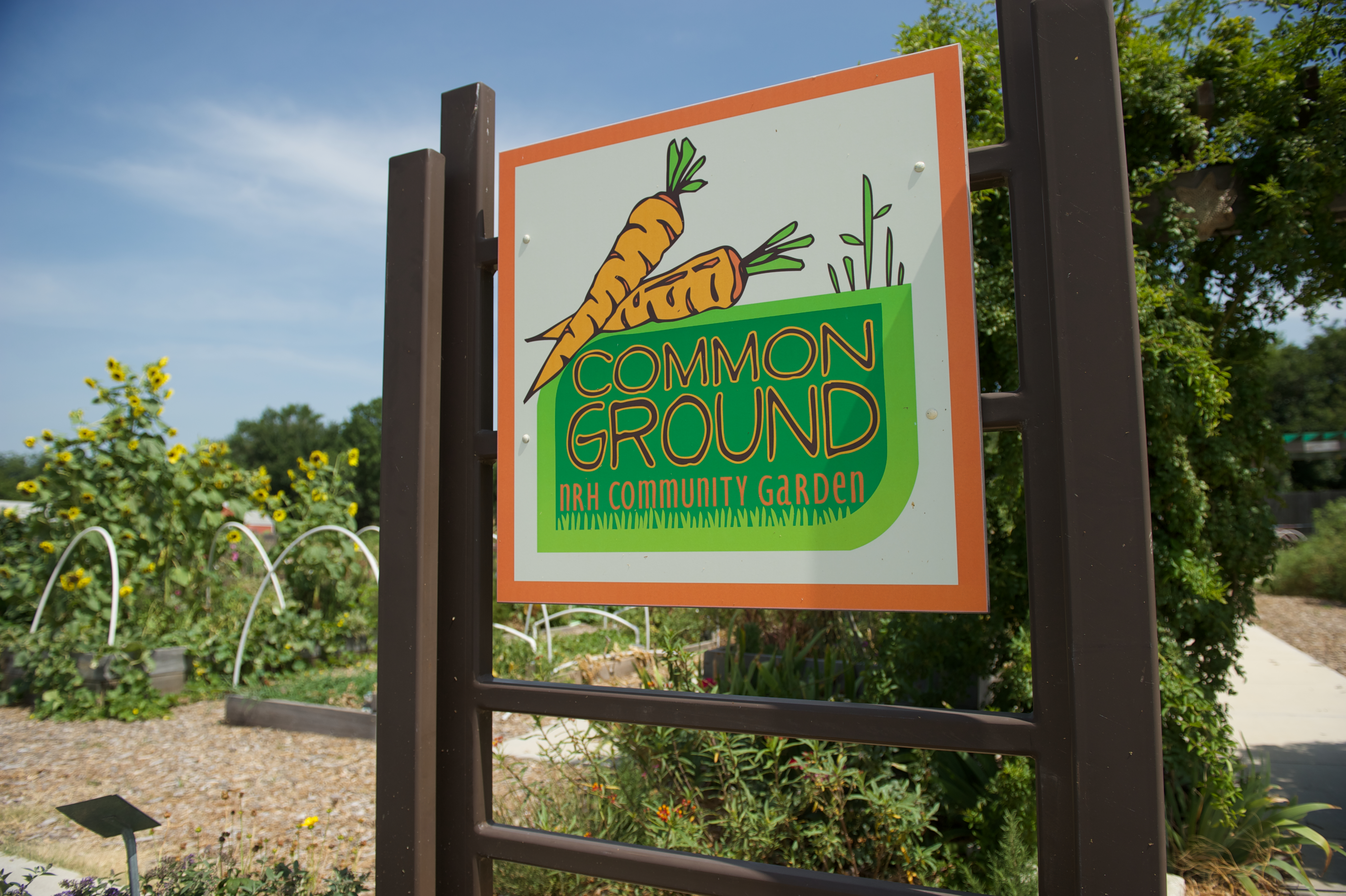 Common Ground NRH Community Garden
